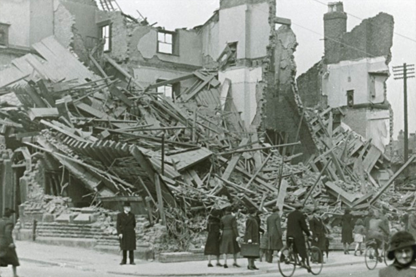 Liverpool Blitz photographs