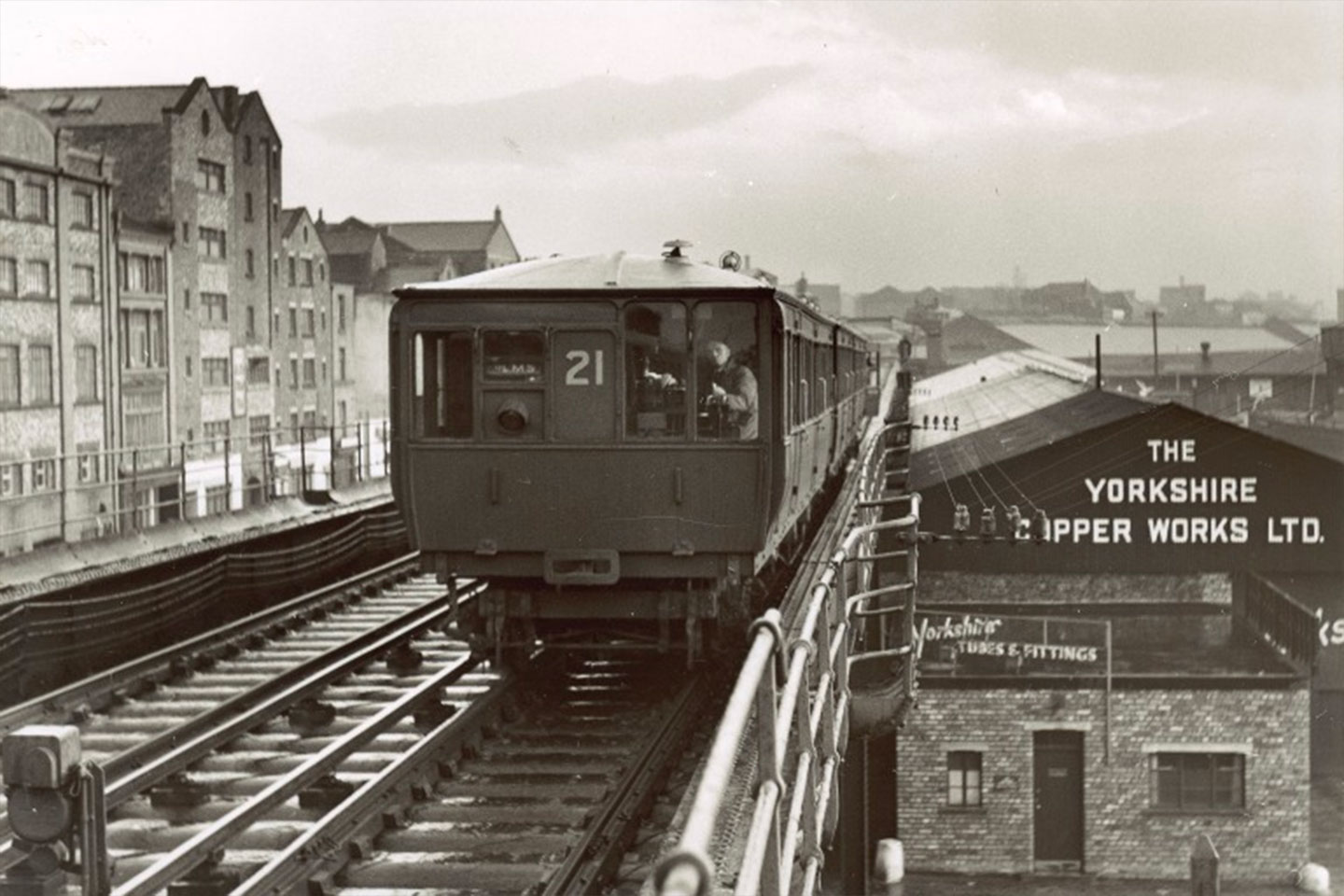 Liverpool Overhead Railway - the end of the line