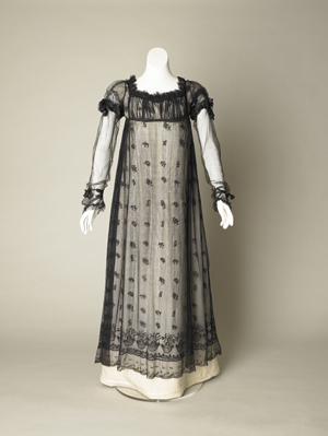 Picture of a 19th century dress
