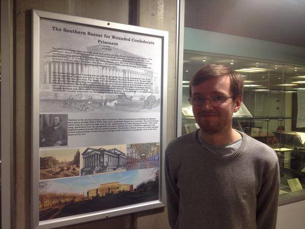 Joe Kelly, a PhD researcher with the University of Liverpool and International Slavery Museum, who has put together an online exhibition about Abercrombie Square