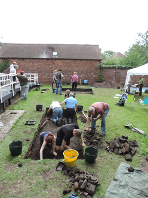 Excavations underway at Rainford Library