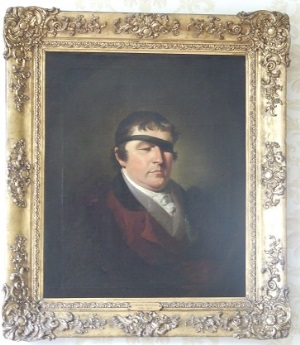 Framed painting of Edward Rushton