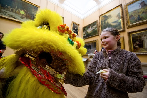 Chinese New Year Celebrations at Lady Lever © Dave Jones