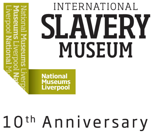 International Slavery Museum 10th anniversary logologo