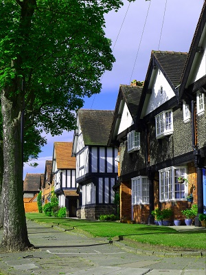 Port Sunlight village by Ian Robertson