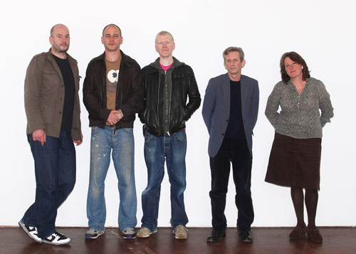 Jury for the John Moores in 2008