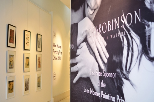 image of advert for DM Robinson jewellers on gallery