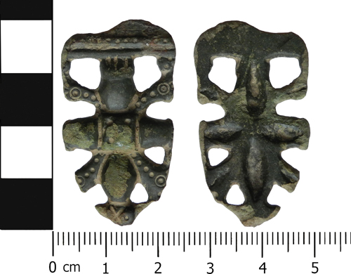 Early Medieval strap end
