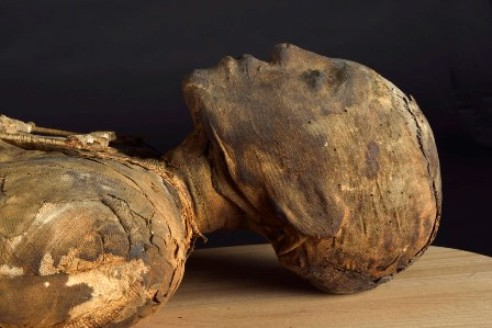 Image of a mummy from World Museum's collection