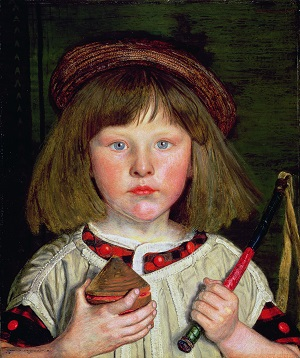 The English Boy, 1860, Ford Madox Brown © Manchester City Galleries