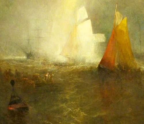 The light, the sailors and the wreck buoy