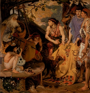 Ford Madoz Brown's 'Coat of Many Colours', which can be seen in the Walker Art Gallery's Pre-Raphaelite exhibition