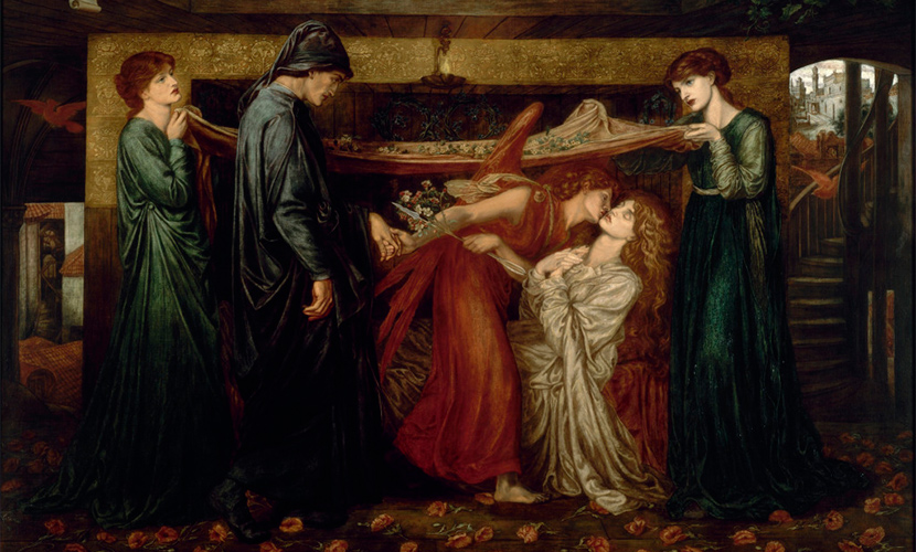 Dante's Dream by Dante Gabriel Rossetti, 1871