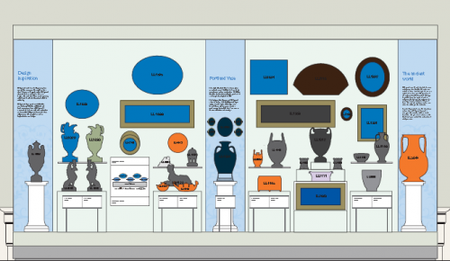 Artists impression of the new large Wedgwood room displays