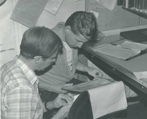 A snapshot from the Switchboard archives of two people who were very excited for the official launch @bishopsgateInst
