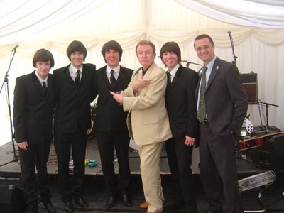 The Beat Beatles, Mike McCartney and David Fleming at the Museum of Liverpool Life closure event.