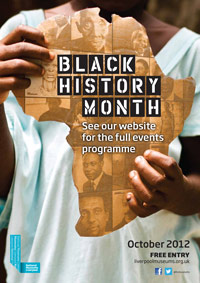 National Museums Liverpool's Black History Month 2012 poster