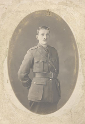 old photo of a soldier in uniform