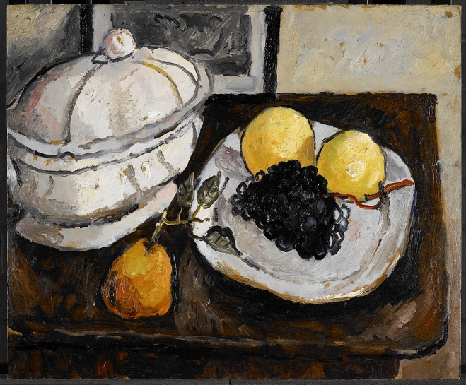 Still Life with Tureen and Fruit by Christopher Wood