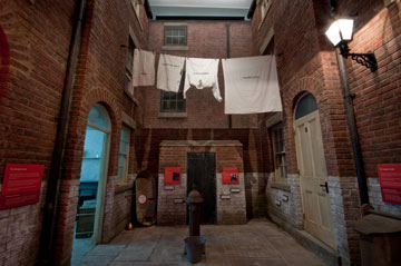 Reconstruction of court housing, Museum of Liverpool.