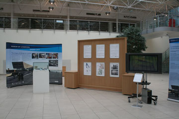Image of Liverpool Map display