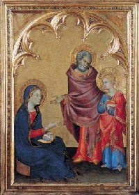 Simone Martini's Christ Discovered In The Temple