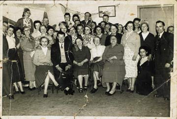 Photograph of people enjoying a party in Stanhope Street