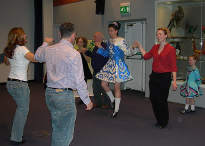 traditional Irish dancing workshop