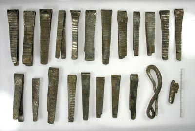 pieces of Viking silver