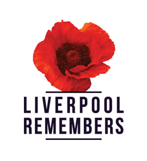 Liverpool Remembers poppy trail logo