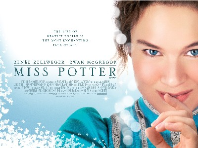 Poster for the movie Miss Potter, by permission Momentum Pictures