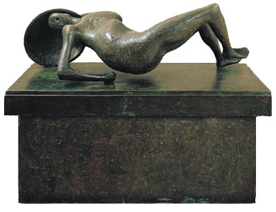 Falling Warrior by Henry Moore