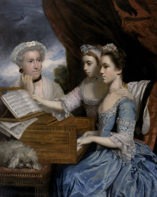 Mrs Paine and her Daughters (1975), Sir Joshua Reynolds (c) National Museums Liverpool
