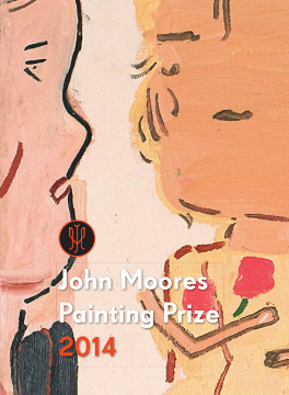 The cover of the 2014 catalogue, showing Rose Wylie's first prize winning painting