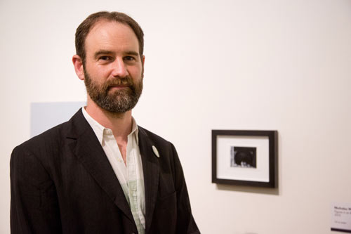 Nicholas at the John Moores 2016 exhibition.