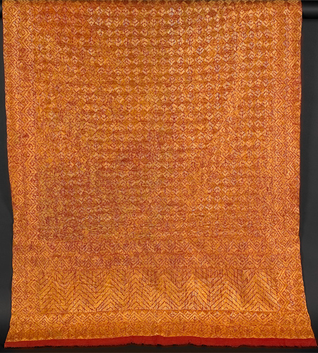 Shawl or 'Phulkari', India 19th century
