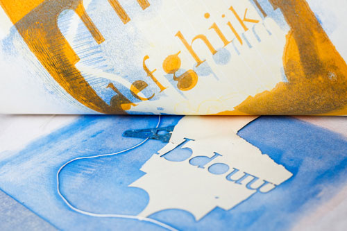 printing cut-out letters on paper