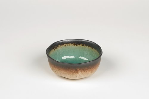 edo pop japanese crackleglaze bowl
