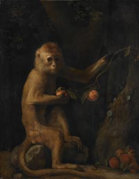 painting of a monkey