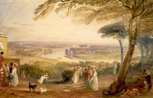 Landscape by JMW Turner
