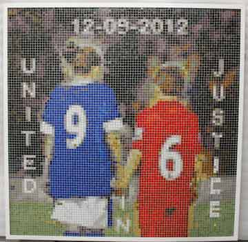 United for Justice mosaic