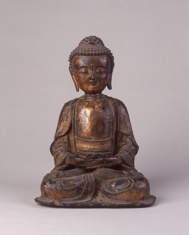 Religious Figure / Amitabha card
