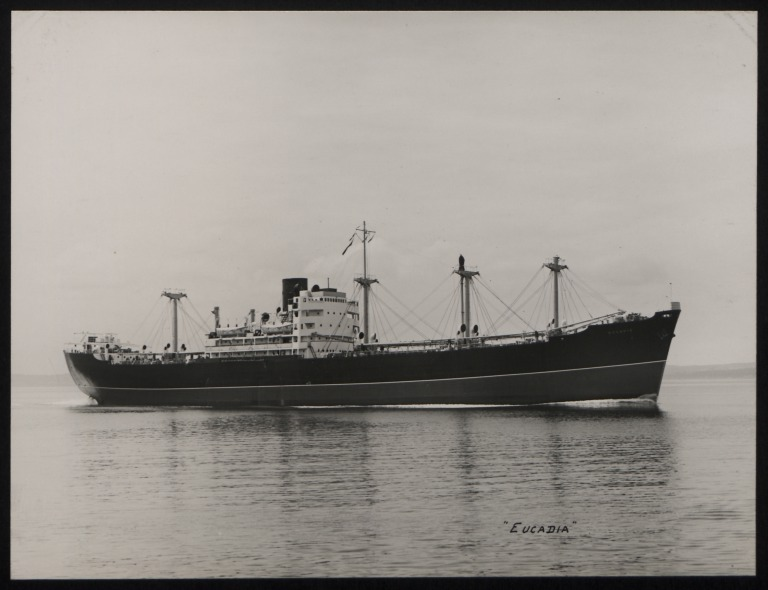 Photograph of Eucadia, Anchor Line card