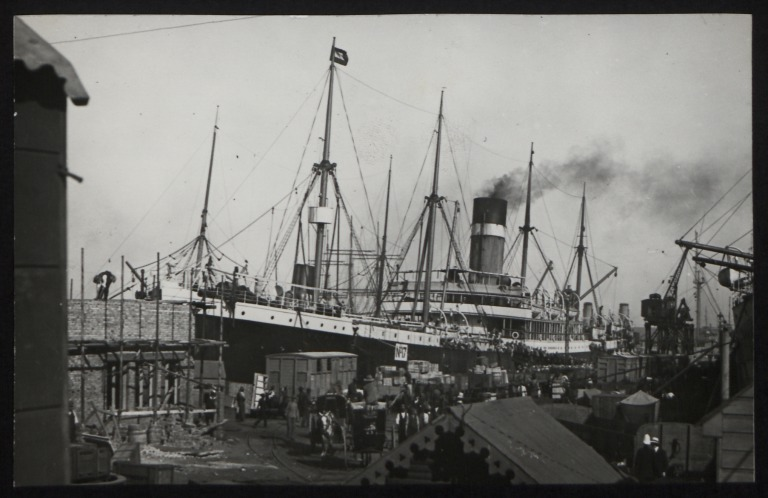 Photograph of Ionian, Allan Line card
