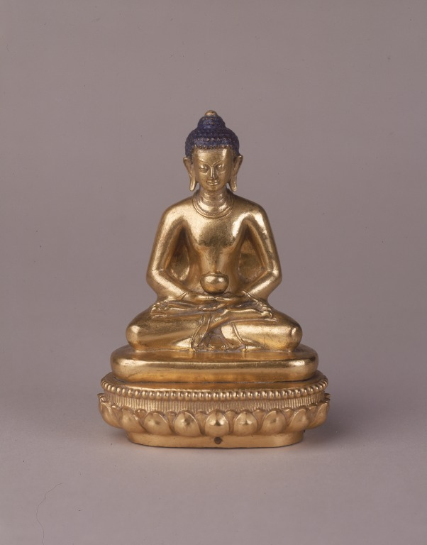 Statue of Amitabha or Od pag med card