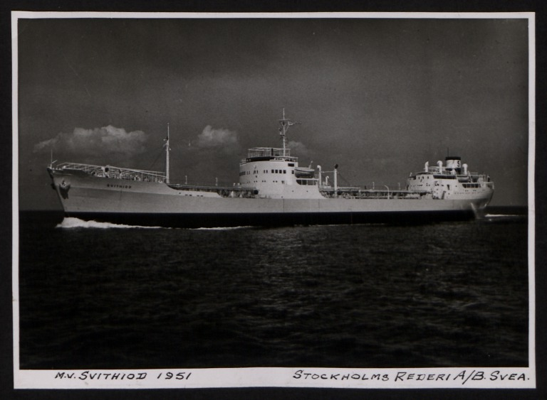 Photograph of Svithiod, Stockholms Rederi Ab Svea card
