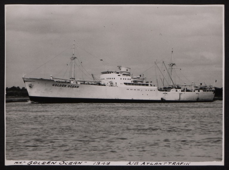 Photograph of Golden Ocean, A/B Atlanttrafik card