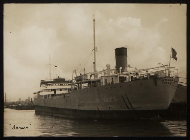 Photograph of Abadan, Rederiaktieb Concordia (Per Waller) card