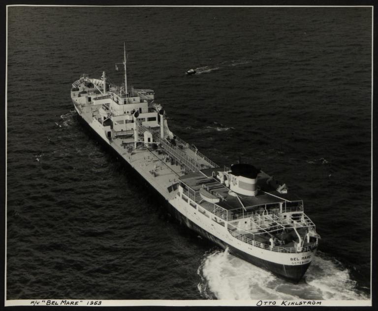 Photograph of Belmare, Otto Kihlstrom card