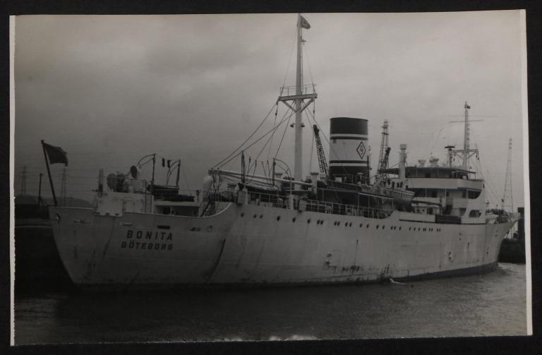Photograph of Bonita, Rederi A/B Dalen card